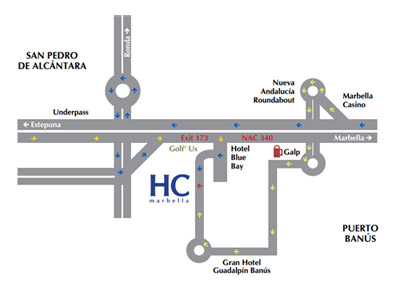 HC Marbella Location