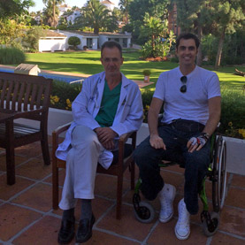 Felipe Echevarria y Dr. Torrabadella