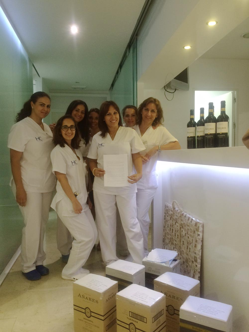 Equipo de enfermería HC