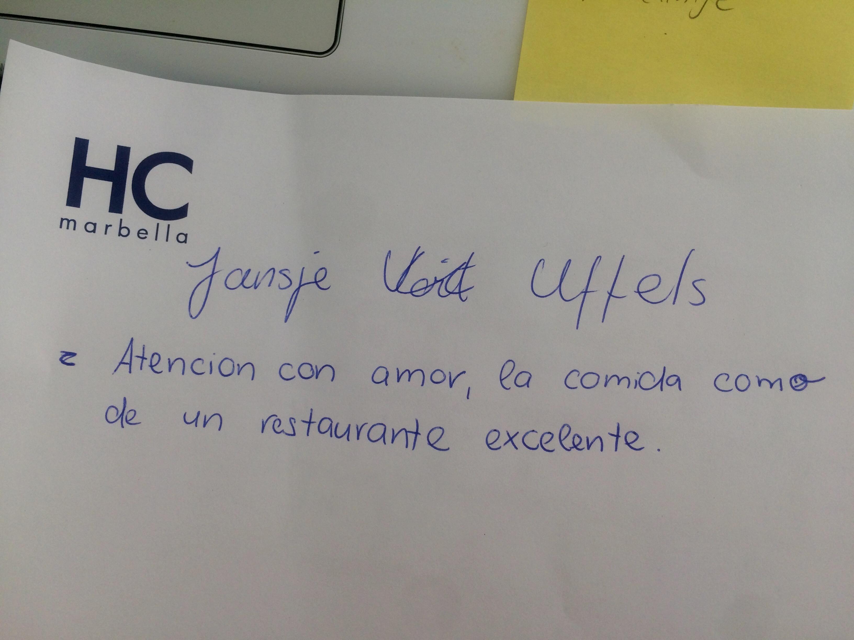 Testimonio paciente Oncología Marbella