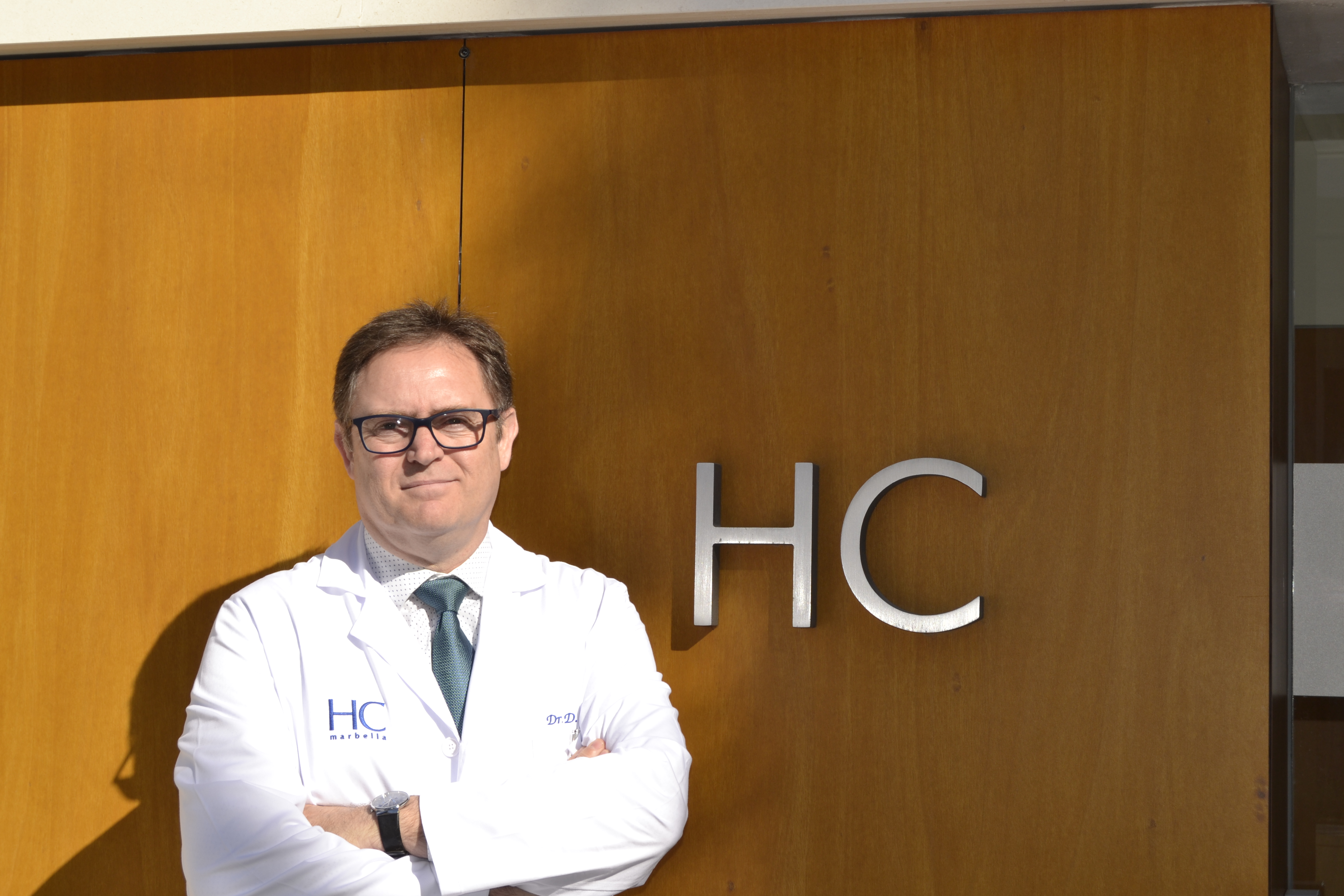 Dr. Diego Pérez en HC Marbella