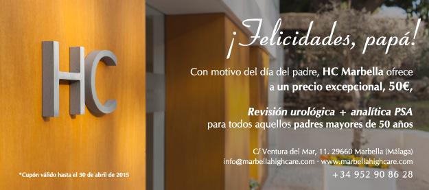 Cupón promo urología