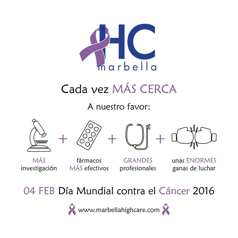 Día Mundial contra el cáncer 2016