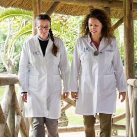 Dra. Nicole Martín y Dra. Bérénice Ibarra