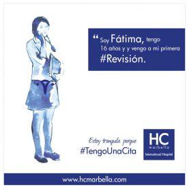 #Primera revisión ginecológica