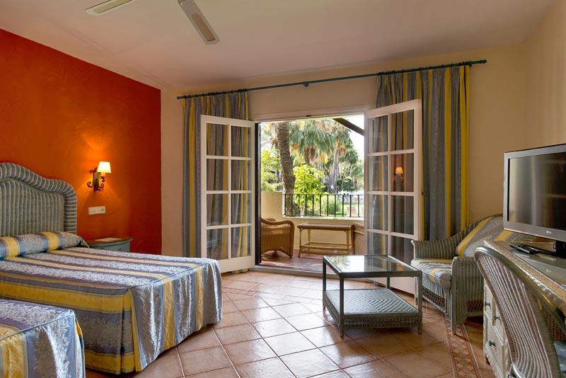 Habitación hotel Puerto Banús Blue Bay