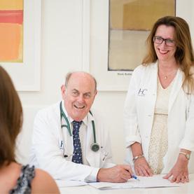 Dr. Cortés-Funes y Dra. Nicole Martin