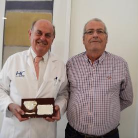 Agradecimiento al doctor Cortés