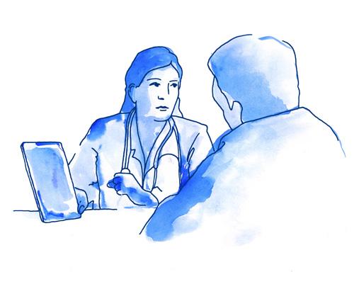 Paciente centro diagnóstico por imagen Málaga