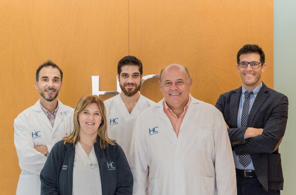 Equipo Radiología Marbella