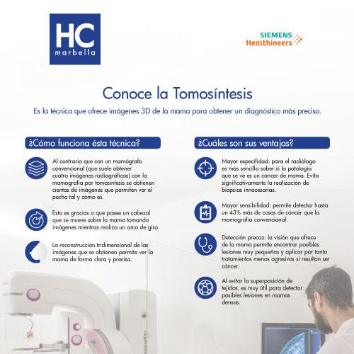 Información Tomosíntesis