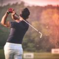Jugador de golf- traumatologia deportiva