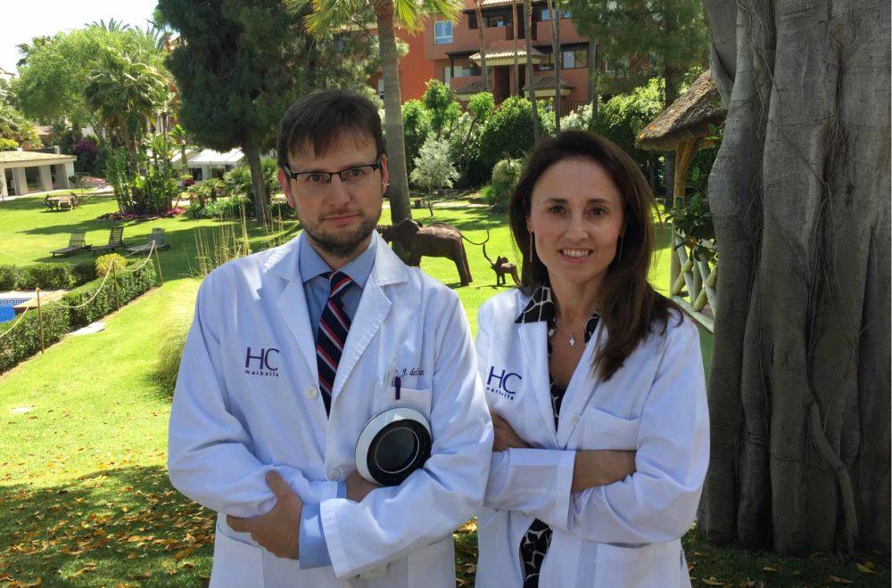 Equipo dermatología HC