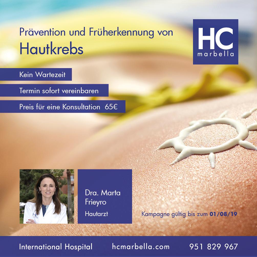 Prävention und Früherkennung von Hautkrebs