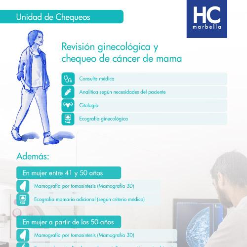 chequeo ginecología