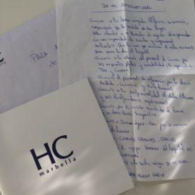 Gracias a todo el equipo humano de HC...