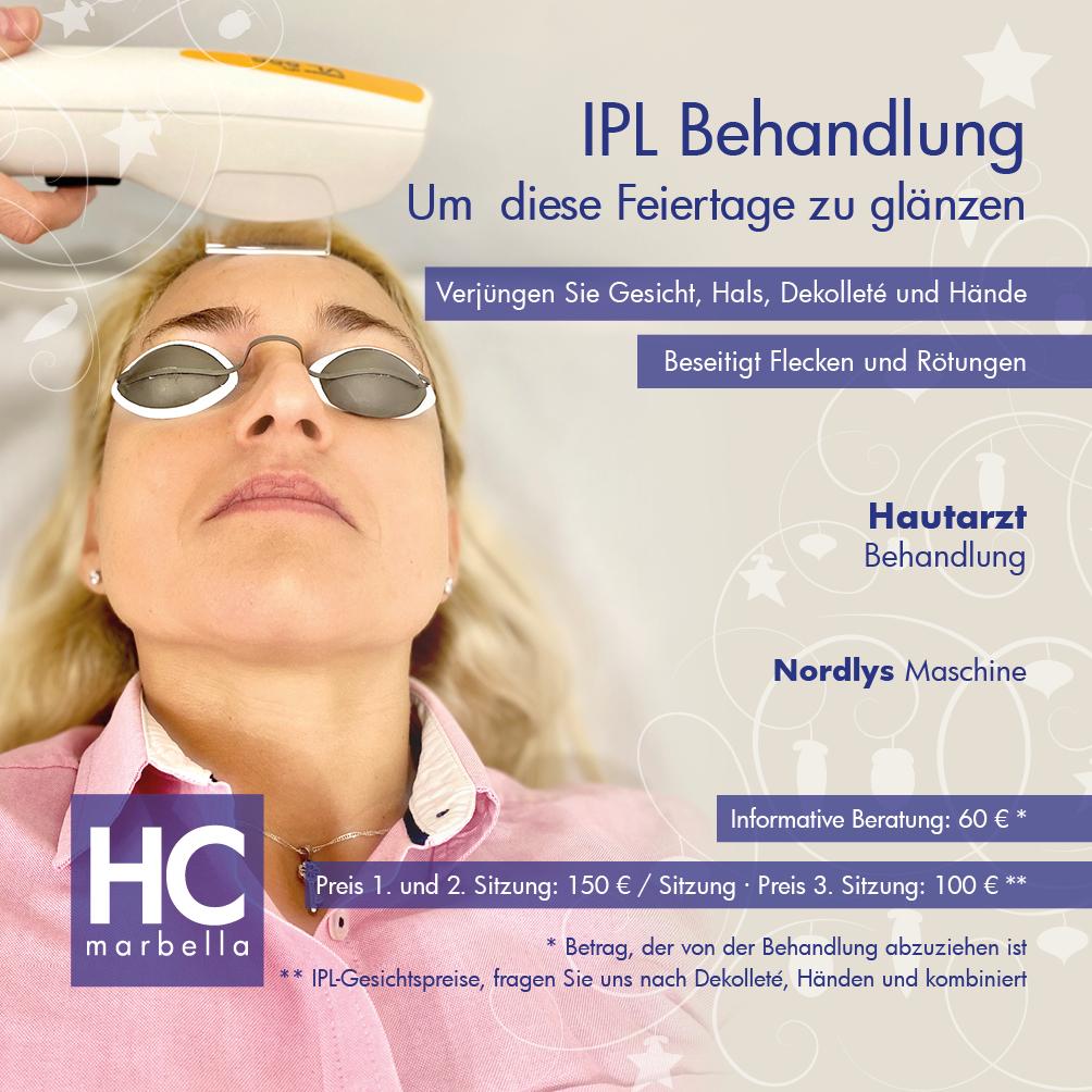 IPL Behandlung