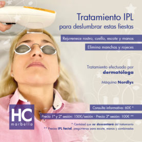 IPL treatment, to dazzle over these h...