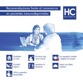 recomendaciones paciente oncológico
