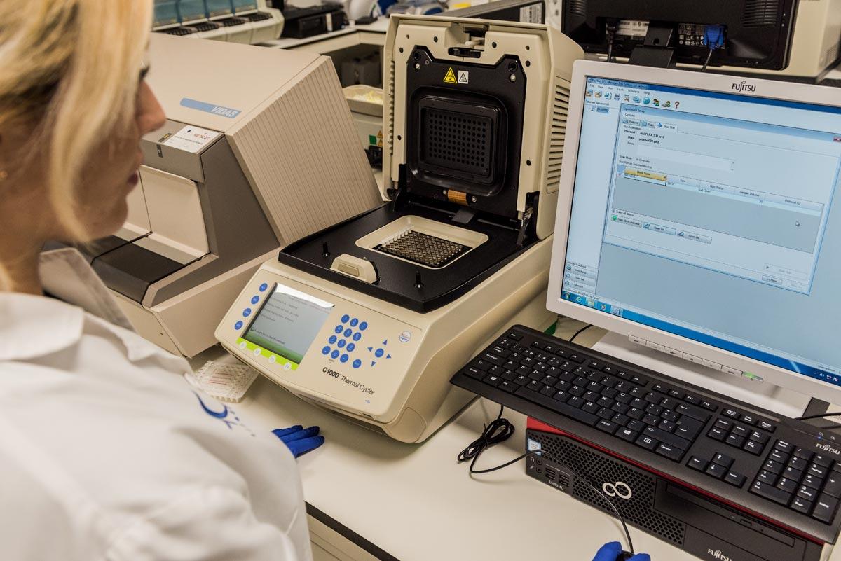 PCR Laboratorio Microbiología