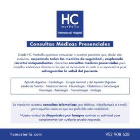 consultas médicas presenciales