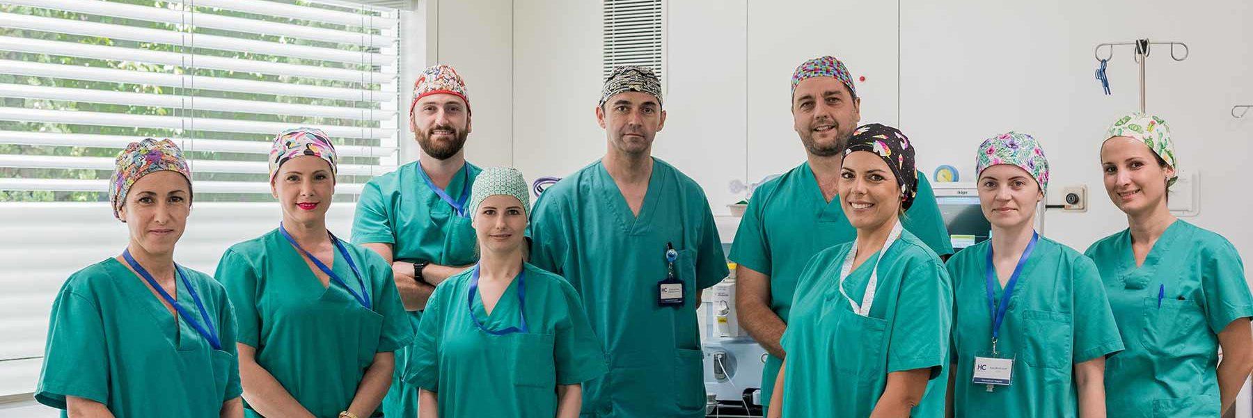 equipo cirugía