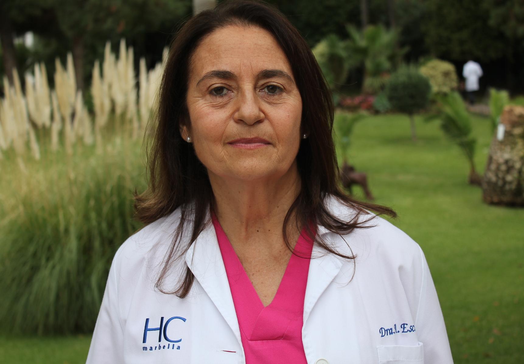 Dra. Escobar testimonio cáncer de mama