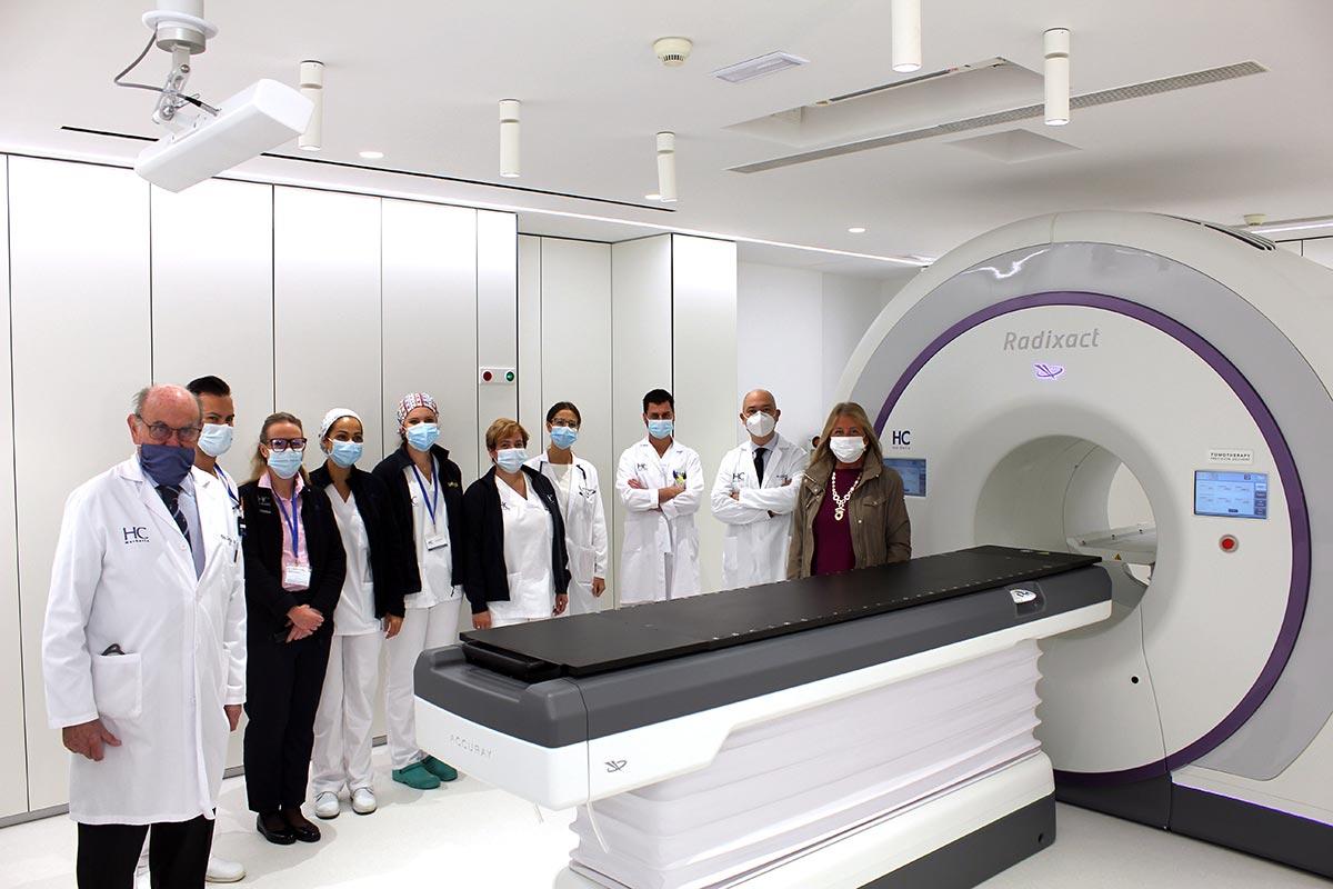 radioterapia visita alcaldesa