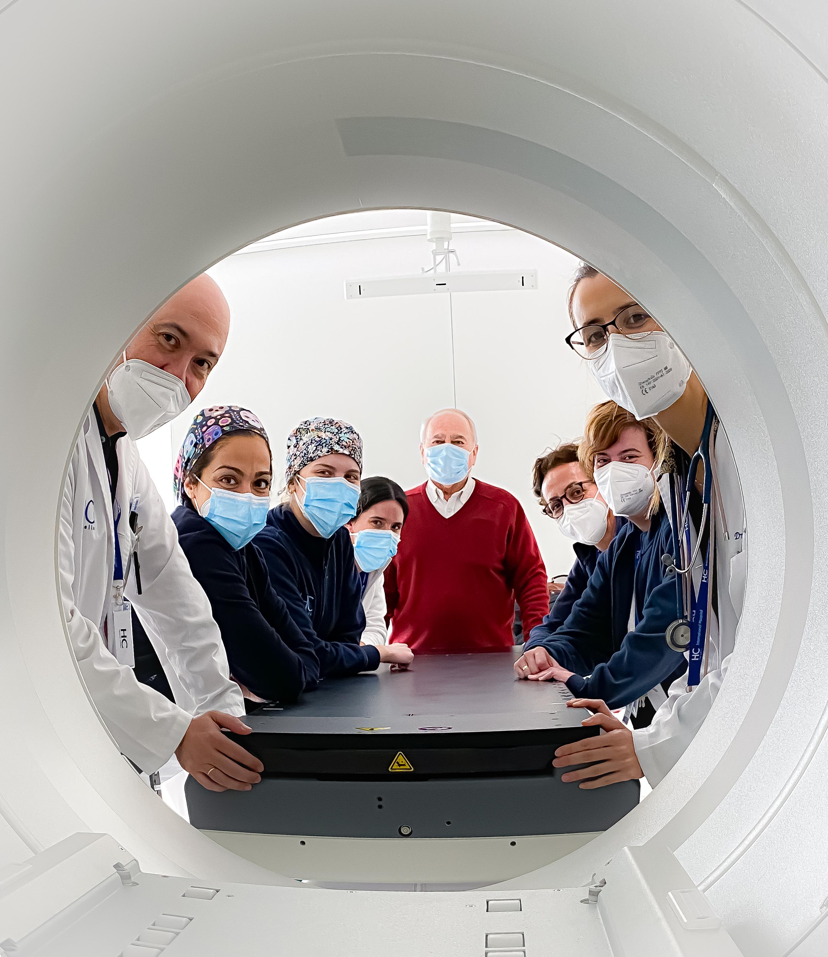 Máquina de radioterapia HC