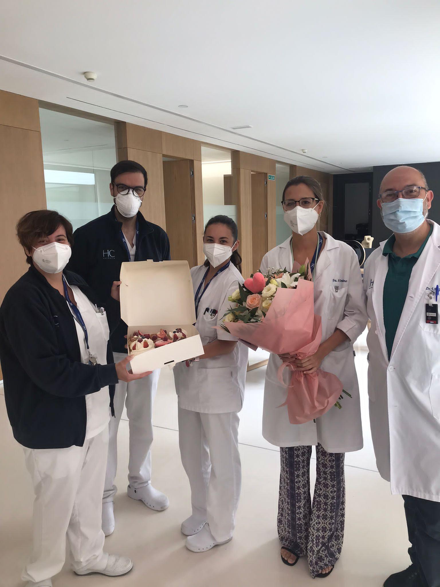 Regalo equipo de oncología HC