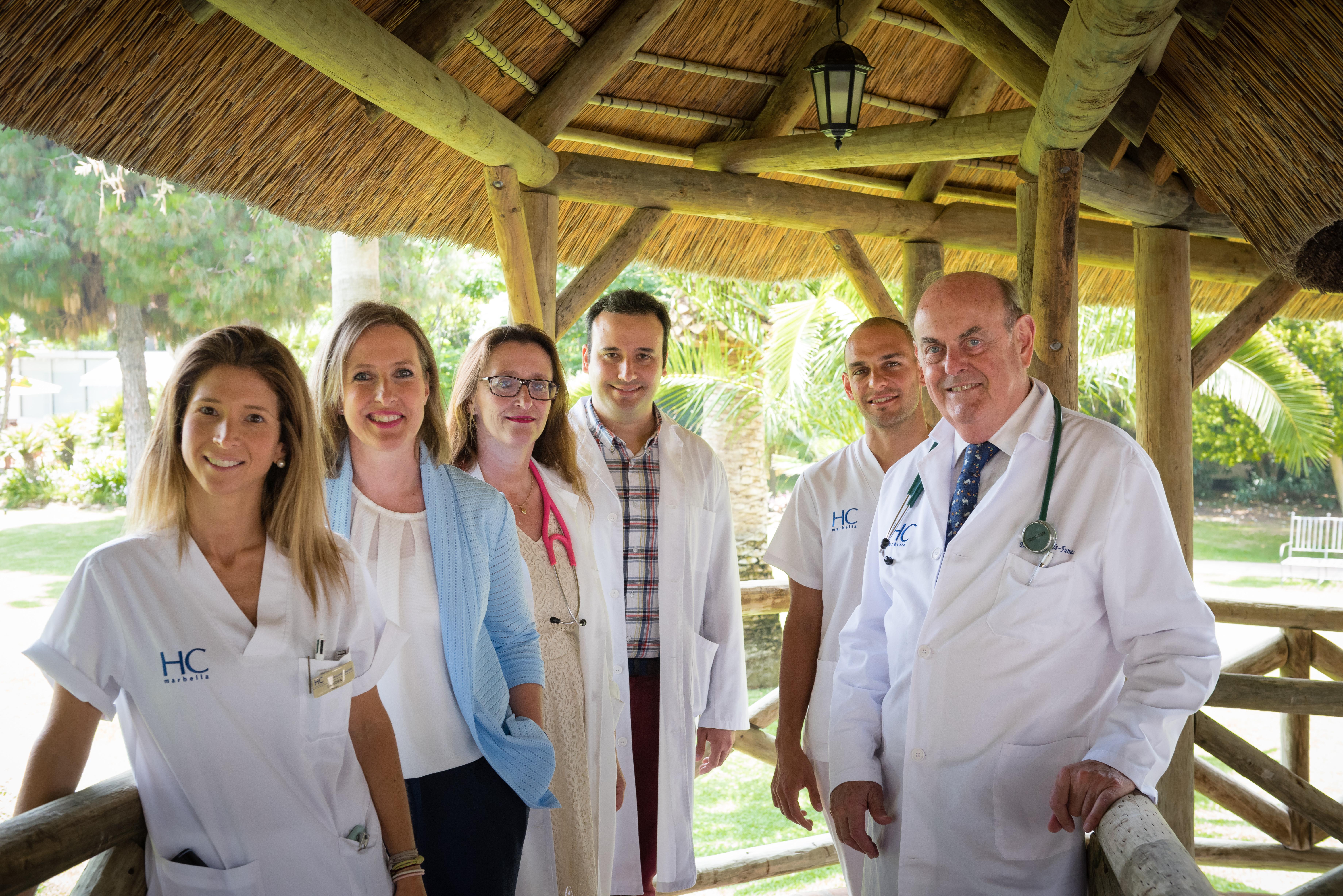 Agradecimiento al equipo de oncología
